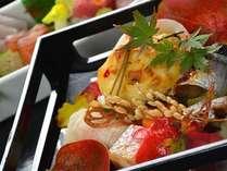 いろんなお料理をバランス良く♪ 季節の会席料理≪竹コース≫