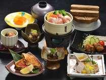 地元鹿野町産:鳥取地どりピヨのフルコース♪鶏好きな方はコレ!◆ピヨ会席コース◆