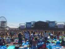 ROCK IN JAPA FESTIVAL 2016 ☆朝食付き