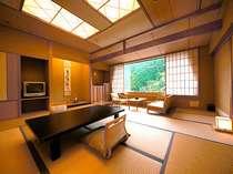 落ち着ける広縁の付いた10畳和室(※客室一例)