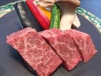 【美味しいお肉】 地元ブランド「いわて門崎丑」の鉄板焼き付きプラン
