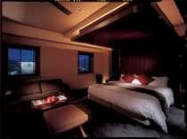 【エグゼクティブ デラックスダブルルーム】35平米。当ホテルに1室だけ。