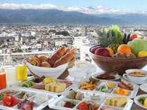 『美味しい朝食』と北アルプスの景観を堪能して、元気な1日を過ごしましょう!