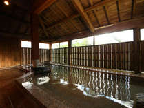 天然温泉貸切風呂。2人ではもったいない広さ♪