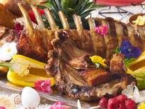 【6/1~8/31】夏を彩るパーティーメニュー♪スペアリブでお肉を堪能!