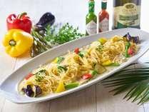 6/1~8/31夏の料理フェアメニュー「夏野菜のパスタ」※イメージです