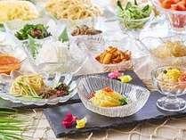 6/1~8/31夏の料理フェアメニュー「涼麺各種」※イメージです