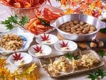 秋のカニ&郷土料理フェア