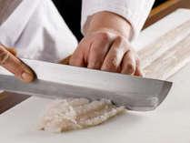 鱧と丹波牛石窯焼きステーキのプレミアムコース イメージ