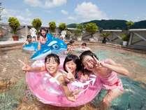 夏休みは9階の『水遊びプール』で思いっきり楽しもう!(7/21~8/30・宿泊者無料・利用は小学生まで)