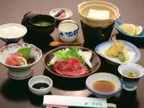 佐賀産和牛のしゃぶしゃぶと温泉湯どうふが堪能できる贅沢な御膳