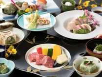 """とろける美味しさの""""佐賀牛""""は陶板焼で♪食材にこだわった春の佐賀牛付会席(写真は6/2までのお料理)"""