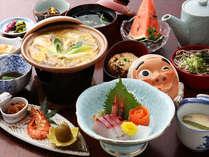●お食事例●優しい味わいの田舎風会席料理の品々です。四季折々、メニューが変更されます★