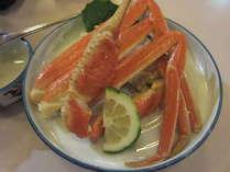 冬の山陰の味!ずわい蟹をお楽しみ下さい!