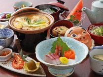 【お食事一例】優しい味わいの田舎風会席料理の品々です。四季折々、メニューが変更されます★