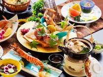 ココでしか味わえない!三河グルメのアカザ海老など、旬の恵みをお愉しみいただけます♪