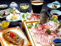 【料理UP】自家養殖!摩周鯛の活き造り&姿唐揚げ<無料駐車場あり>