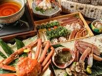 【冬の味覚】 皇室献上級越前蟹付きフルコース