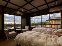 特別和洋室ツインベッド