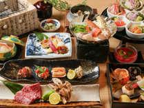 ・大平庵会席 日本海と福井で採れた様々な旬の食材を堪能