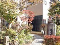 2014年外観もリニューアル♪秩父の雄大な自然に囲まれた癒しの純和風旅館。
