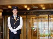 ようこそホテル日航福岡へ―。