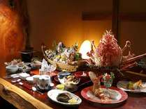 【個室食事処】お食事はお部屋又は個室のお食事処にて