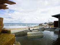 太平洋を望む天然温泉露天風呂