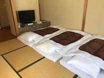 和室1(6階)布団が敷いてあります,大阪府,ホテルシーガルてんぽーざん大阪