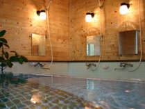 *お風呂/天然温泉は、滑らかなお湯でお肌つるつる!!