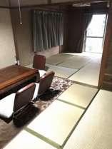 客室 12畳のお部屋です。
