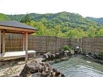 大自然の風を感じる露天風呂