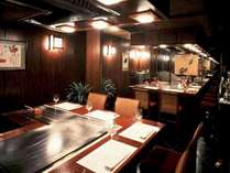 【鉄板焼レストラン 濱】記念日など様々なシチュエーションでご利用頂けます。