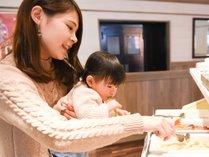 【ブラスリー・ミリーラフォーレ】 朝食バイキング・イメージ