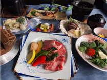 【夏の岩井会席】旬の素材を大切に、ボリュームUPしたグレードアップ会席料理をお楽しみください