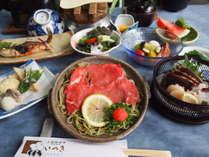 【夏のいつき会席】旬の素材を大切にした会席料理をお楽しみください