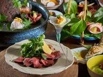 【松膳】一例・山咲最上級プラン・季節の献立贅沢な時間を。