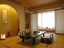 1フロア4室のみの静かな客室