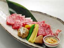 神戸ビーフのステーキ