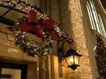クリスマス装飾外観
