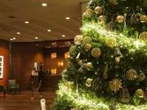 クリスマスロビー装飾
