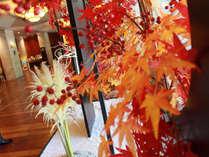 【季節のロビー装飾でお出迎え】(9月)中秋の名月
