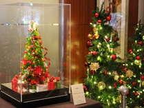 【季節のロビー装飾でお出迎え】(11・12月)クリスマス