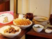 朝食ブッフェには名古屋めしもご用意