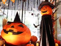 【季節のロビー装飾でお出迎え】(10月)ハロウィン