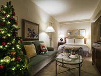 お部屋をクリスマス装飾♪