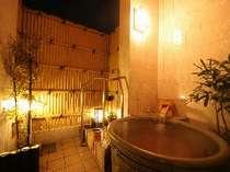 2種類あるお風呂は、どちらも無料の貸し切りでご利用いただけます