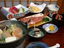 *旬の魚介類を使用したお食事です!(料理一例)