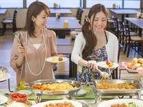 ◆朝食~14階からの展望を楽しみながら種類豊富なバイキングを楽しんでください♪~