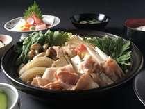 寒い日はほかほか豚すきやき膳♪お得な夕食付プランでぜひどうぞ!
